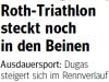 Zeitungsbericht Lohrer Echo 06.07.2009