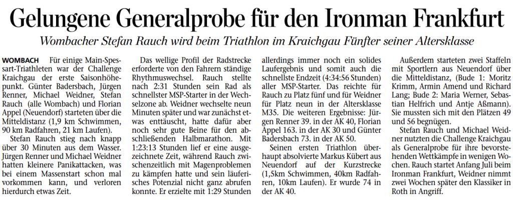 2014-06-21-Mainpost-Kraichgau